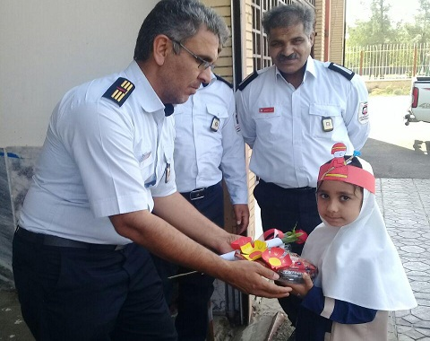 ویژه برنامه روزملی ایمنی و آتش نشانی