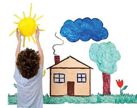 نقاشی کودکان را روان شناسی کنید